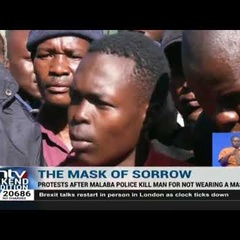 20-year-old man shot by police in Malaba for failing to wear a face mask