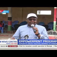 Amos Kimunya urges youth groups and women to embrace empowerment programs