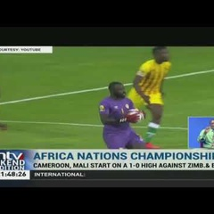 CHAN AFCON: Cameroon beats Zimbabwe 1-0 in opening match
