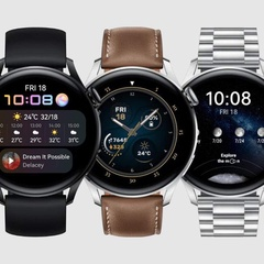 Huawei Watch 3 Powered by HarmonyOS Has Officially Been Unveiled
