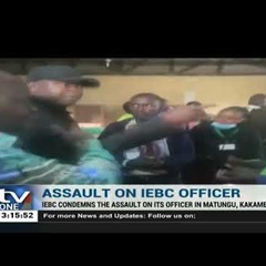 IEBC chairman wants Rashid Echesa arrested for assaulting election official