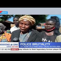 KILLED FOR NO MASK? Man allegedly shot by police for not wearing a mask in Malaba, Busia County