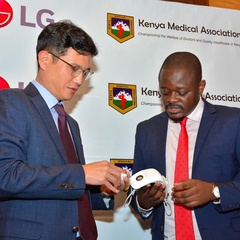 LG Donates PuriCare Wearable Air Purifers To Frontline Healthcare Workers