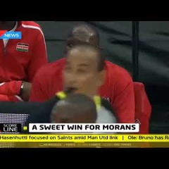 Morans register their first win, beating Mozambique 79- 62   Scoreline