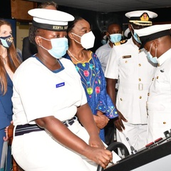 Navy Training College acquires new firefighting facility