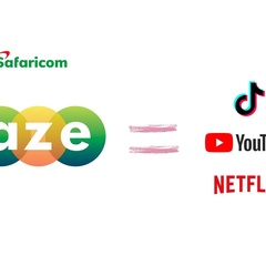 Safaricom Baze wants to be TikTok, YouTube and Netflix all in one?