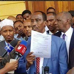 Senate to decide Wajir Governor's fate on Monday afternoon
