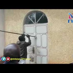 Siaya County: Faithfuls break padlocks to gain access to church after it was locked by clergy
