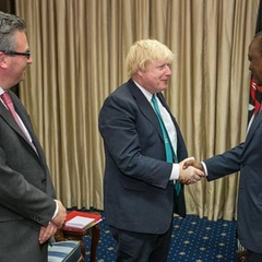 Uhuru and UK's Johnson set for virtual school visits Wednesday